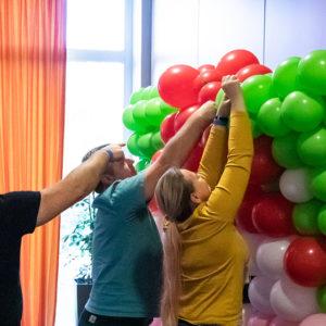 Link-o-loon balony z łącznikiem